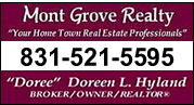 Doree Hyland's Mont Grove Realty